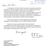 Message from Govt. of  Uttarakhand